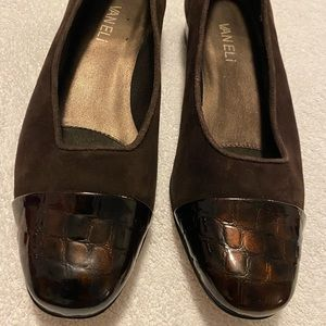 Almost Brand New Leather / Suede Flats By VANELI